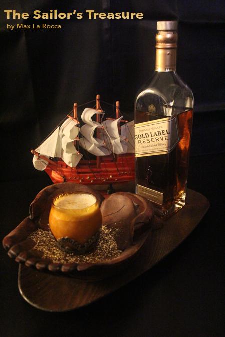 the-sailors-treasure cocktail by Max La Rocca